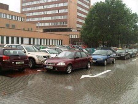 Nemocnice Orlová - parkoviště