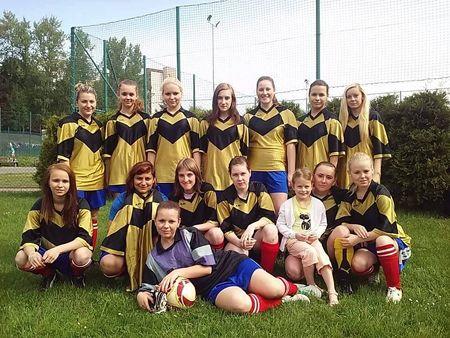 Ženský fotbalový tým SK SPORTING Orlová