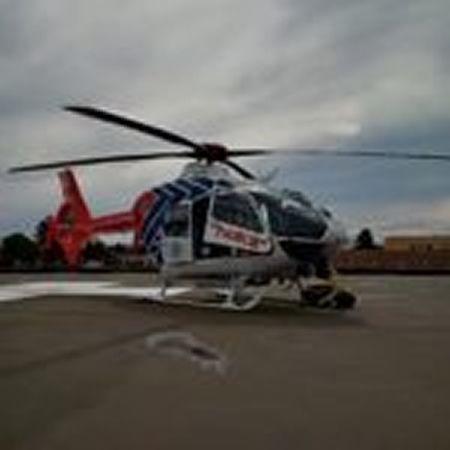 V Orlové zasahoval vrtulník při pádu z výšky